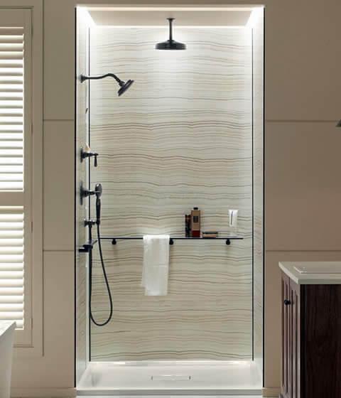 Bathroom Surrounds West Bend Wi Cograph Shower Walls